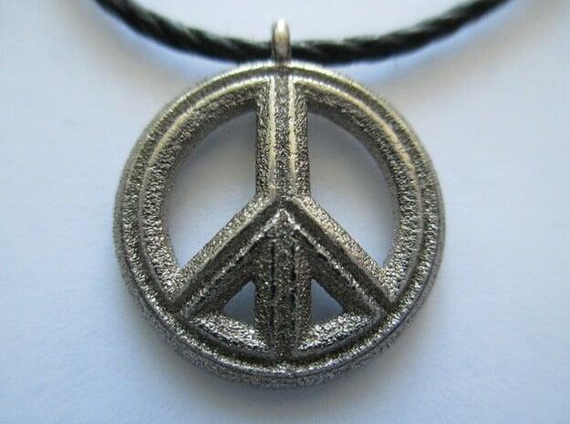 Peace in Polished Nickel Steel