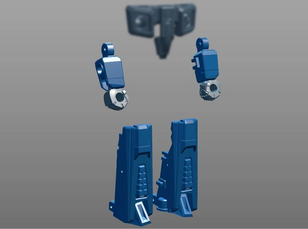 Seeker Limbs for PotP Blackwing in White Processed Versatile Plastic