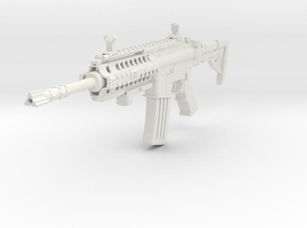 Insanity M4 Rifle in White Natural Versatile Plastic