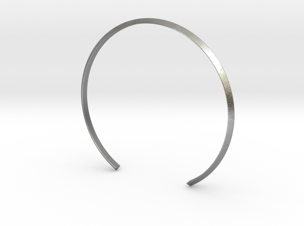 Armband Pil in Natural Silver