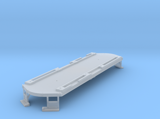 High Res O Scale Illinois Terminal Class B Floor  in Smooth Fine Detail Plastic