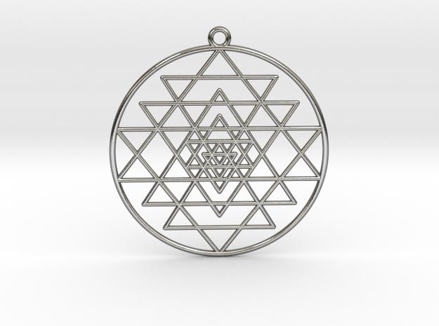 Sri Yantra Pendant Symmetrical