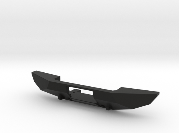 Winch Bumper for Axial Trail Honcho  in Black Natural Versatile Plastic