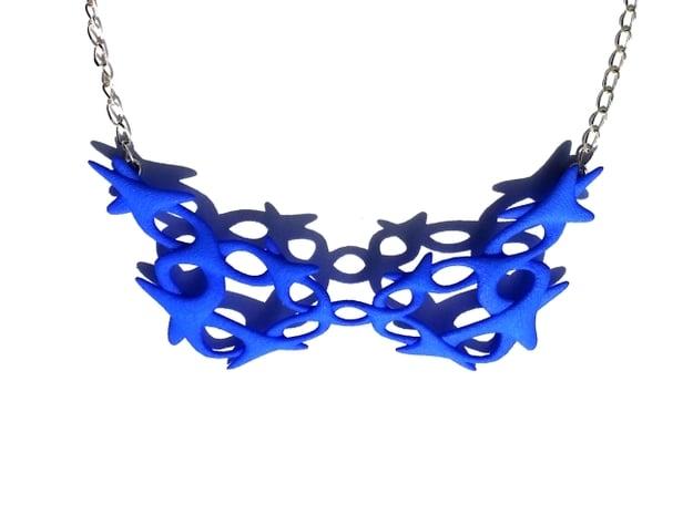 Conectate Necklace in Blue Processed Versatile Plastic