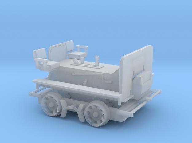 S Scale - Fairmont M14 Speeder Car in Smooth Fine Detail Plastic