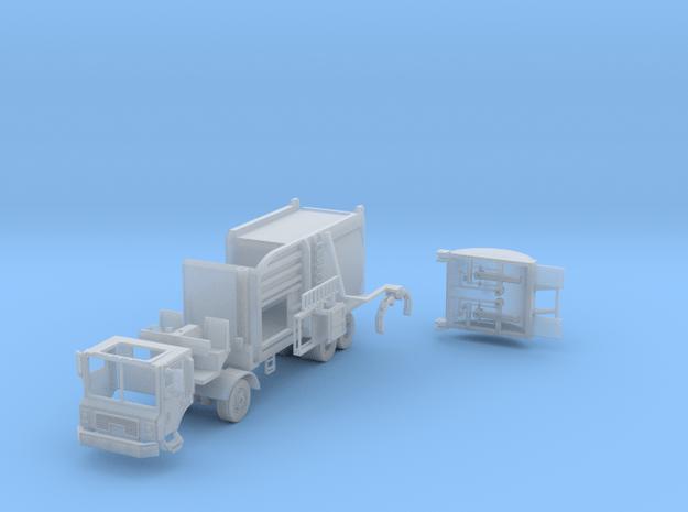 Garbage Truck Side Load 1-87 HO Scale