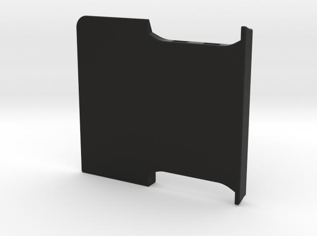Lockable Garmin 595 Base Plate - Cover in Black Natural Versatile Plastic
