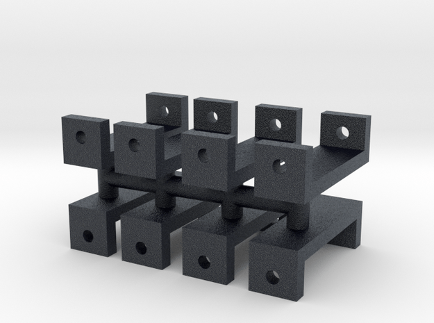 119 tender pedestals in Black PA12
