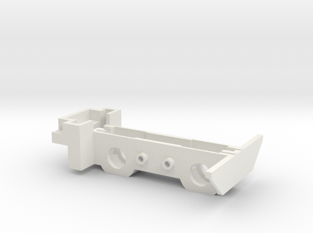 HOe - Jouef Chassis V10 de remplacement in White Natural Versatile Plastic