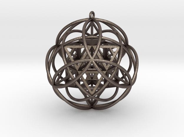 Stellated Vector Equilibrium Pendant v3