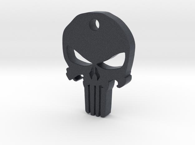 Punisher Pendant in Black PA12