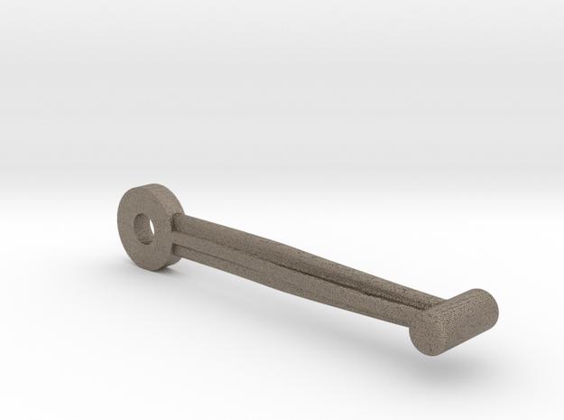 Handcar 1:6 Scale Brake Link in Matte Bronzed-Silver Steel