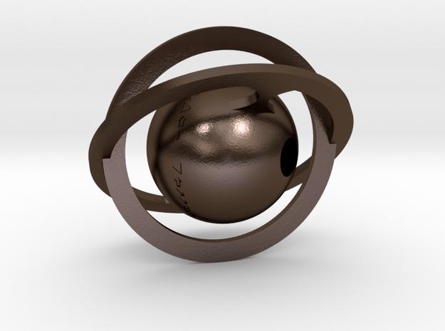 Stellar in Polished Bronze Steel