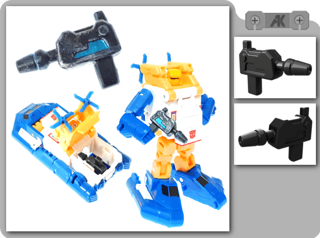 TR Seaspray Blaster in Smooth Fine Detail Plastic