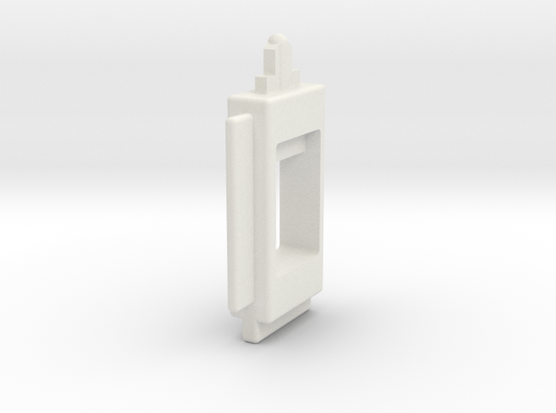 Nerf Crossbow Trigger in White Natural Versatile Plastic