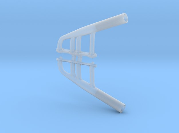 1/25 Y-block Ford Lakes Headers in Smooth Fine Detail Plastic