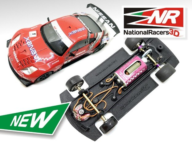 3D Chassis - Ninco Nissan 350Z (Inline - AllinOne)