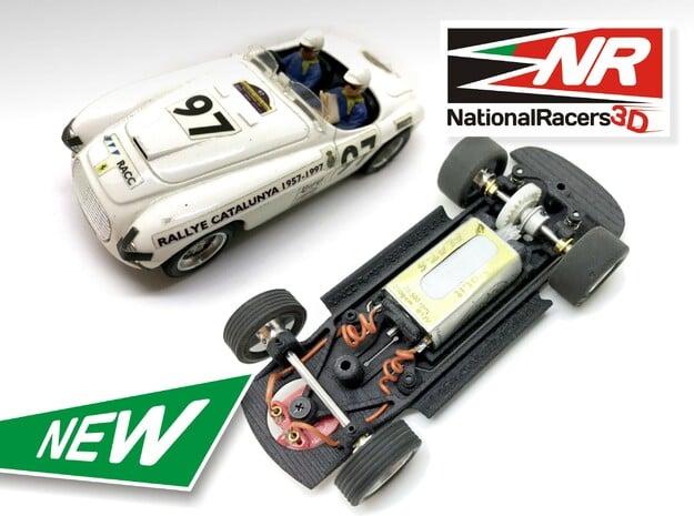 3D Chassis - NINCO Ferrari 166 MM (Inline - AiO)
