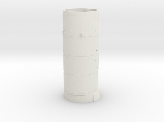 119 Boiler- Simple Bell in White Natural Versatile Plastic