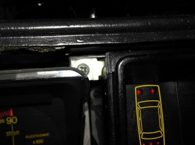 Lancia Delta 1 Check control rep SET in White Natural Versatile Plastic