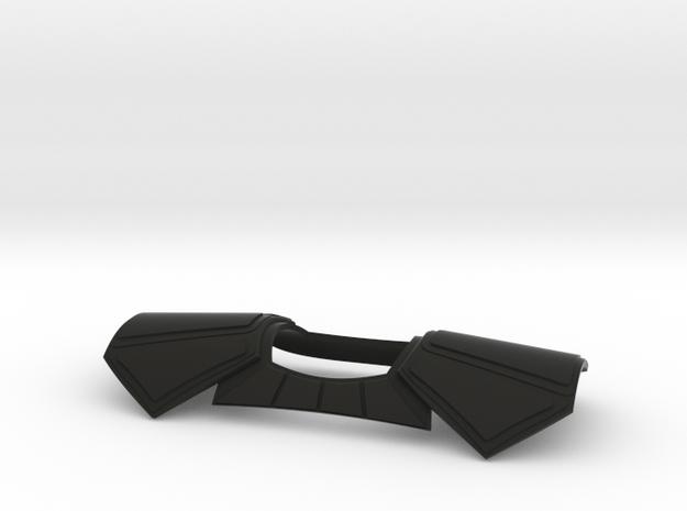 Sideshow ARC Pauldron in Black Natural Versatile Plastic