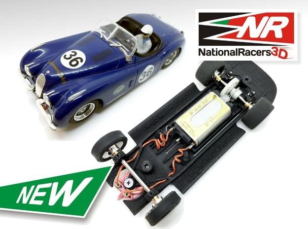 3D Chassis - NINCO Jaguar XK 120 (Inline-AllinOne)