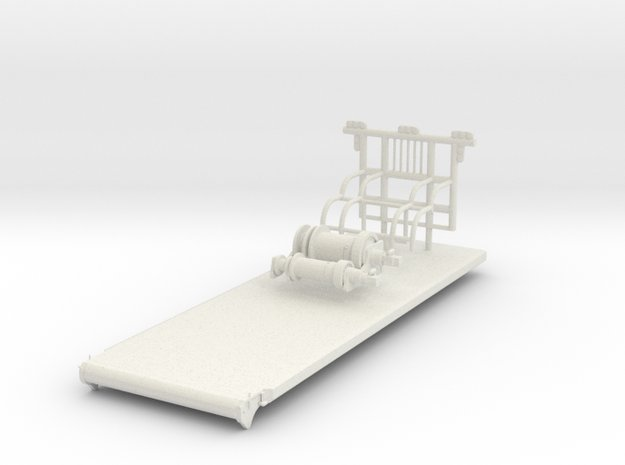 1/50th Small Oilfield type dual winch bed