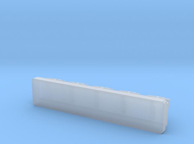Generic Star Destroyer Bridge  in Smooth Fine Detail Plastic