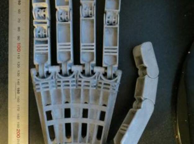 Anthromod Mk 2 Right Hand in White Natural Versatile Plastic