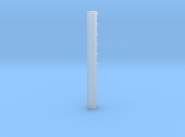 O2 knob with sprue in Smooth Fine Detail Plastic