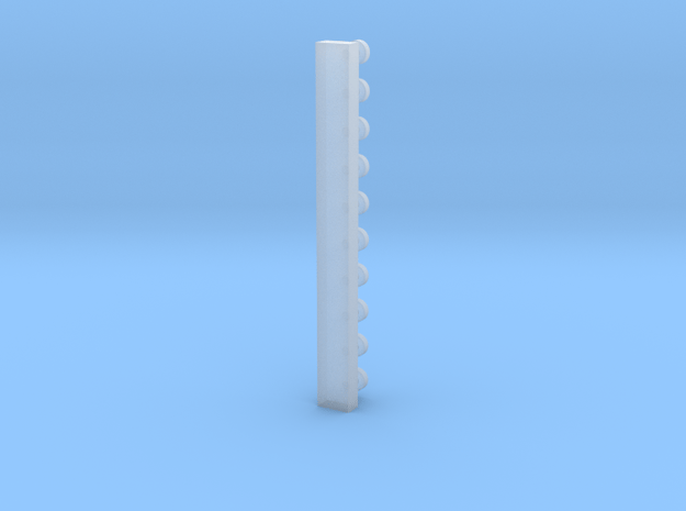 O2 knob B with sprue in Smooth Fine Detail Plastic