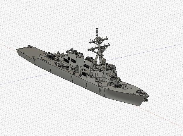 1/1250 USS ArleighBurke in Smooth Fine Detail Plastic