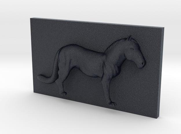 HorseLeopard Caricature (001) in Black PA12