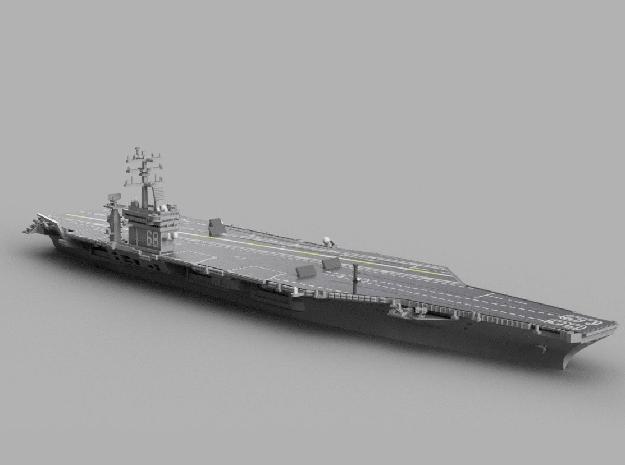 1/2400 USS Nimitz in Smooth Fine Detail Plastic