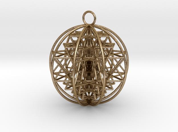 3D Sri Yantra 9 Sided Optimal