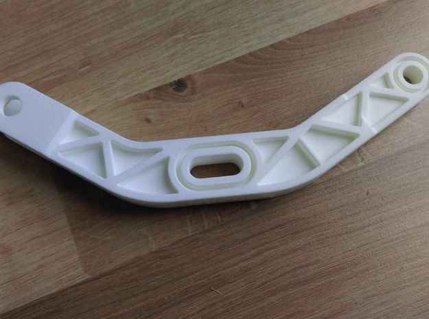 Lancia Delta 1 Brake balancer arm in White Processed Versatile Plastic