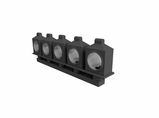 HOn30 Box headlight in Smoothest Fine Detail Plastic