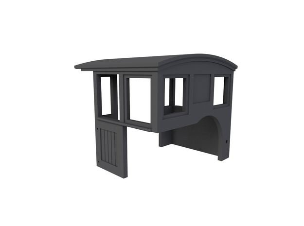 HOn30 Shay Cab Vertical Wood Panels in Smoothest Fine Detail Plastic