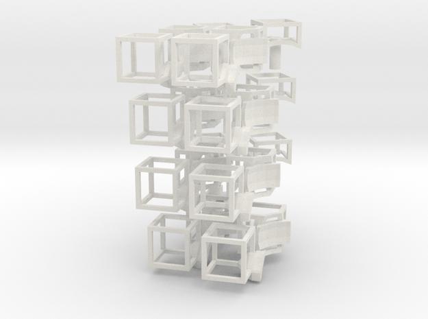 void magic cube6_full kit.33 in White Natural Versatile Plastic