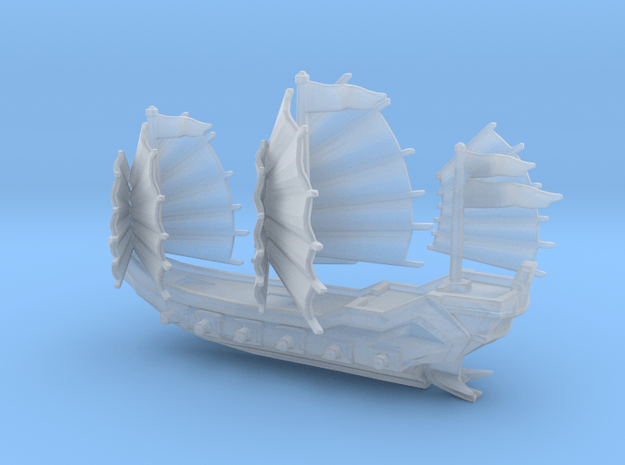 Junk ship /armed in Smooth Fine Detail Plastic