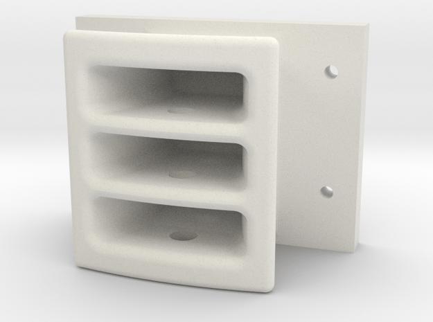 119 tender drawhead Modified in White Natural Versatile Plastic