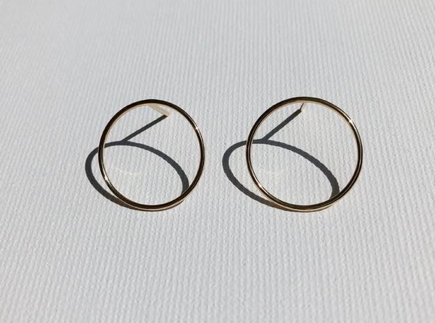 Billabong Circle Earrings