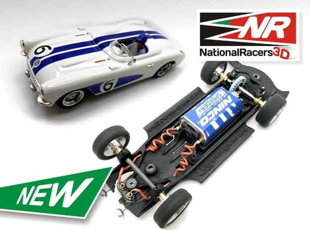 3D Chassis - NINCO Corvette C1 (Inline - AiO)