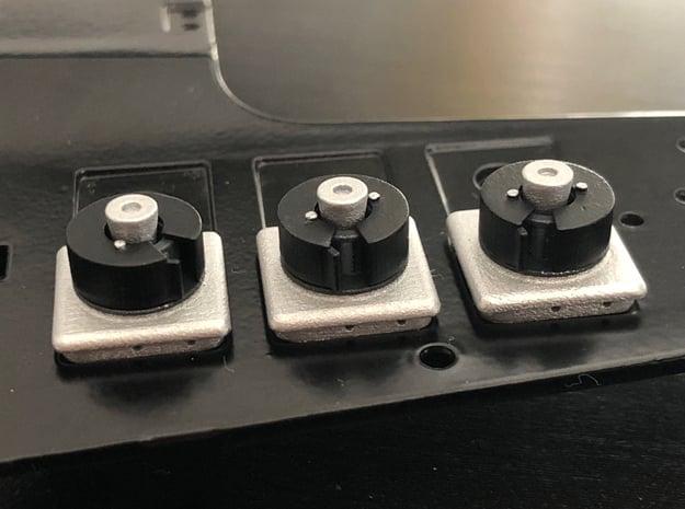 1:8 BTTF DeLorean Hockey Puck parts in Smoothest Fine Detail Plastic