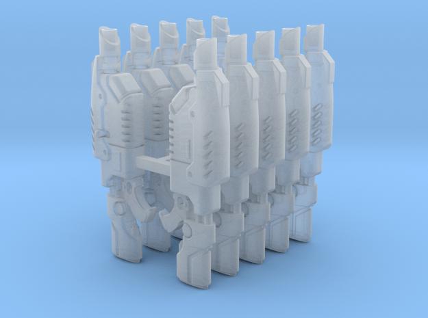 Van Saar Lascarbines (x10) in Smoothest Fine Detail Plastic
