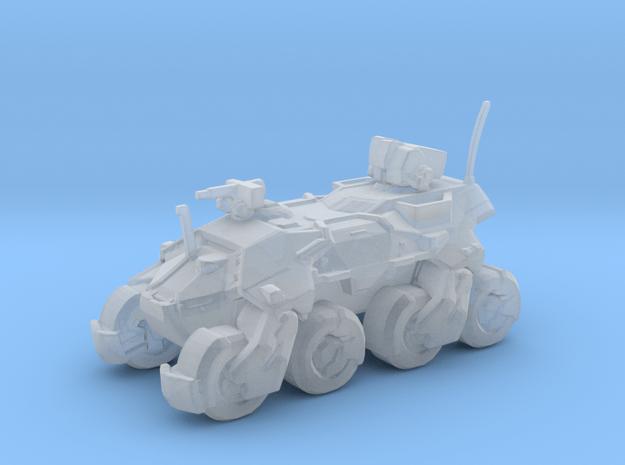Sci Fi Amored Vehicle APC MONK / uniqe in Smooth Fine Detail Plastic