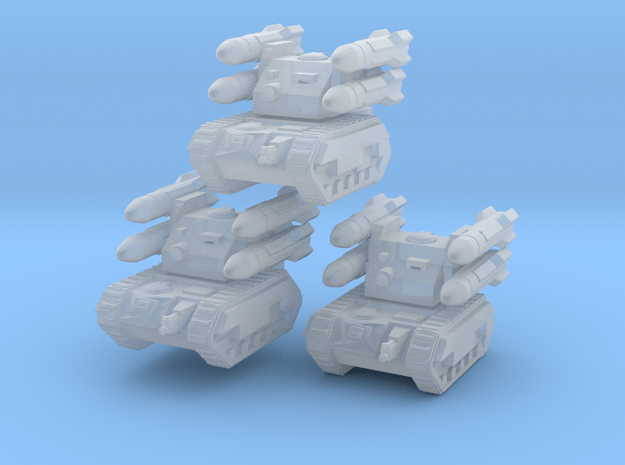 Stygies Pattern Manticore / 3 pieces in Smooth Fine Detail Plastic