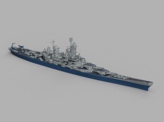 1/1800 USS Iowa 1943 in Smooth Fine Detail Plastic