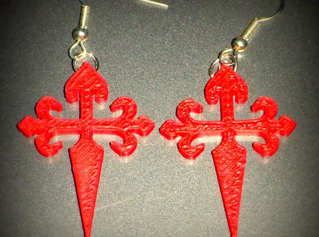 IMPRENTA3D CRUZ DE SANTIAGO in Red Processed Versatile Plastic