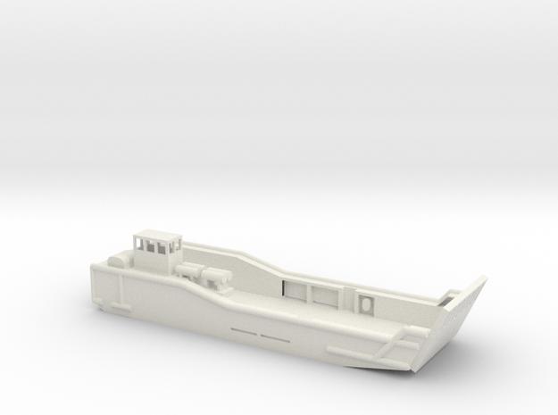 1/72 Scale British LCM Mk 10 in White Natural Versatile Plastic